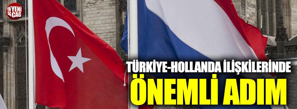 Türkiye-Hollanda ilişkilerinde yeni gelişme