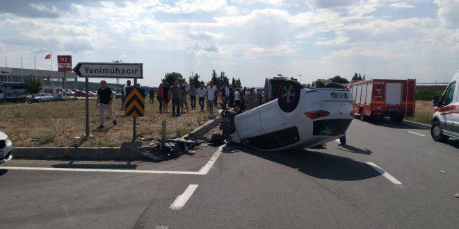 Keşan'da trafik kazası: 6 yaralı