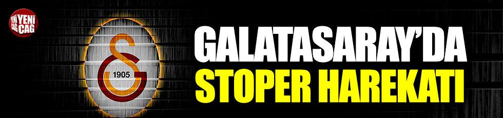 Galatasaray'da stoper harekatı