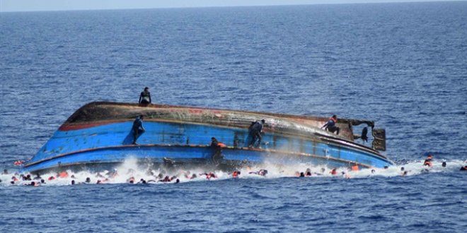 Göçmenleri taşıyan tekne battı: 3 ölü, 2 kayıp