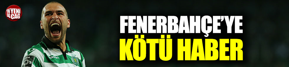 Bas Dost'tan Fenerbahçe'ye kötü haber