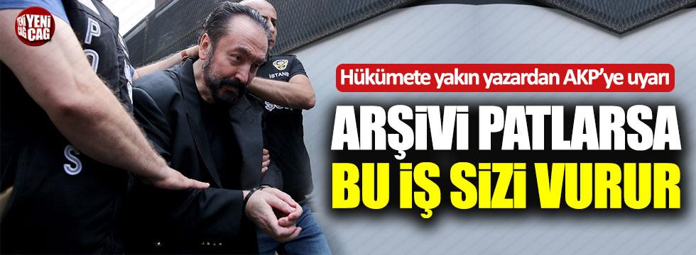 Dilipak'tan AKP'ye Adnan Oktar uyarısı!