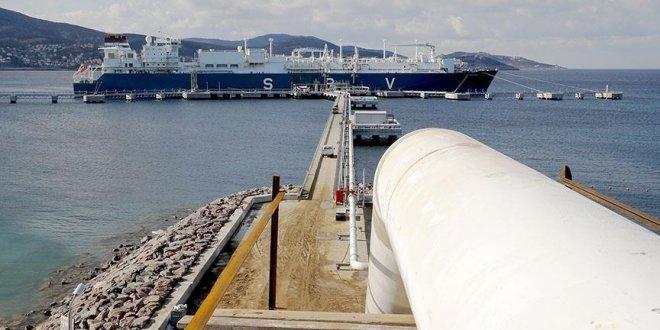 Doğal gaz ithalatında zirvedeyiz!