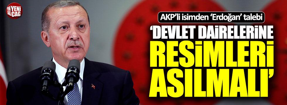 """İsmail Kahraman: """"Devlet dairelerine Erdoğan'ın resimleri asılmalı"""""""