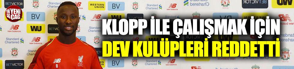 Naby Keita'dan transfer açıklaması