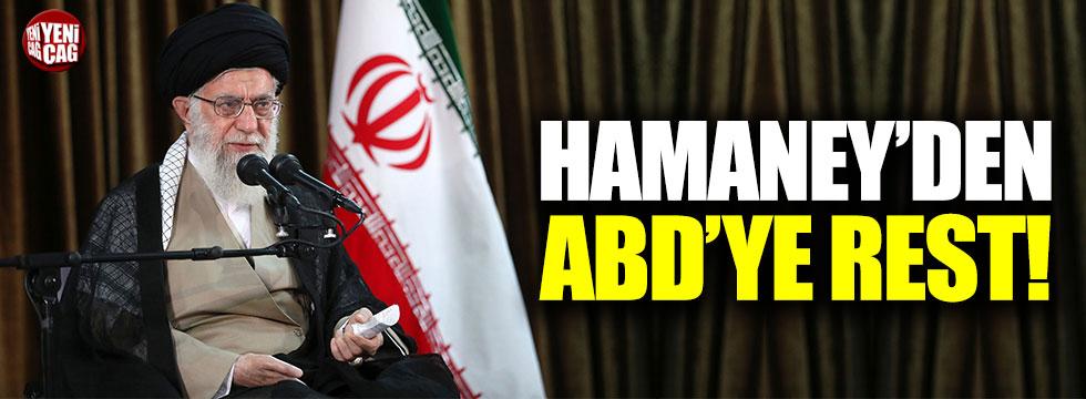 İran'dan ABD'ye rest