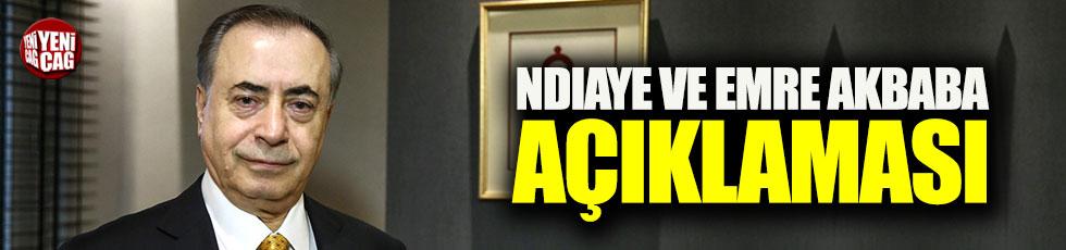 Cengiz'den Ndiaye ve Emre Akbaba açıklaması