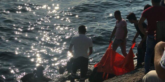 Moda'da denize giren bir kişi boğuldu