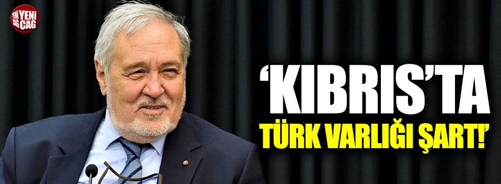 "İlber Ortaylı: ""Kıbrıs'ta Türk varlığı şart"""