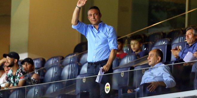 Ali Koç, Eljif Elmas'ın golünü ayakta alkışladı