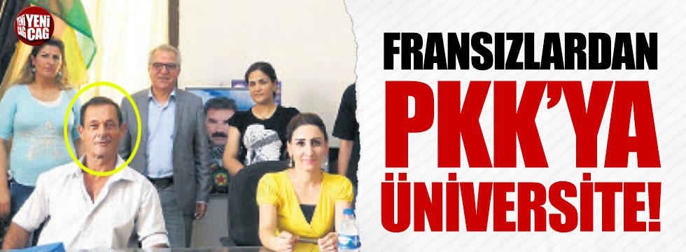 Fransızlardan PKK'ya üniversite!