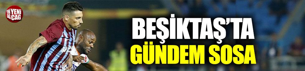 Beşiktaş'ta gündem Sosa