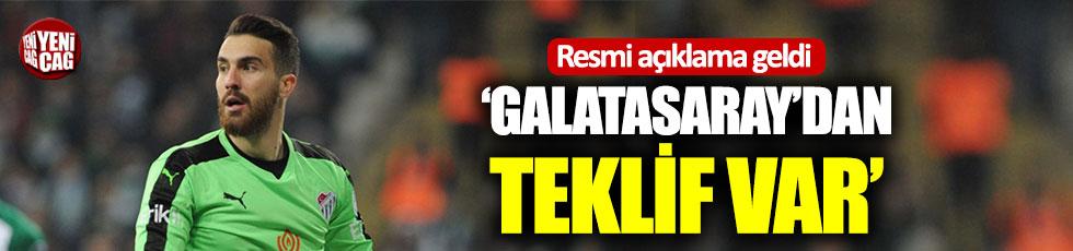 """Bursaspor Başkanı Ay: """"Harun İçin Galatasaray'dan teklif geldi"""""""