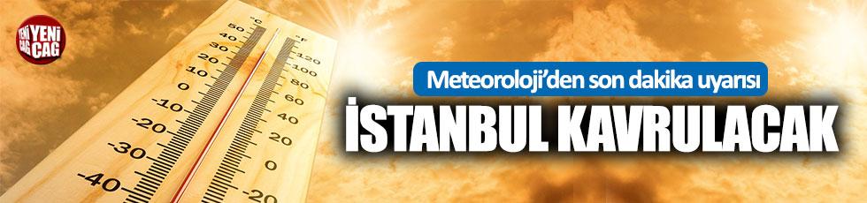 İstanbul için sıcak hava uyarısı