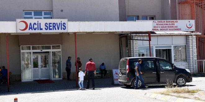 Sivas'ta 700 kişi hastaneye başvurdu