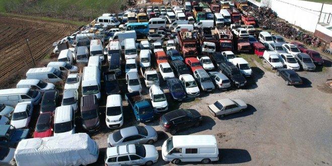 Otoparkta bulunan binlerce hacizli araç buhar oldu!