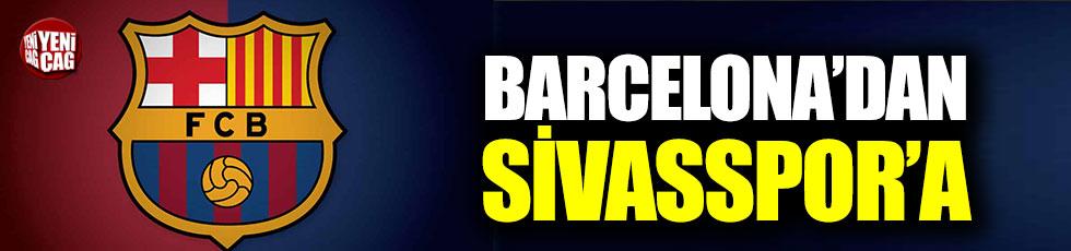 Barcelona'dan Sivasspor'a transfer oldu!