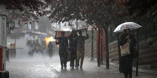 Meteoroloji'den İstanbul için yağış uyarısı