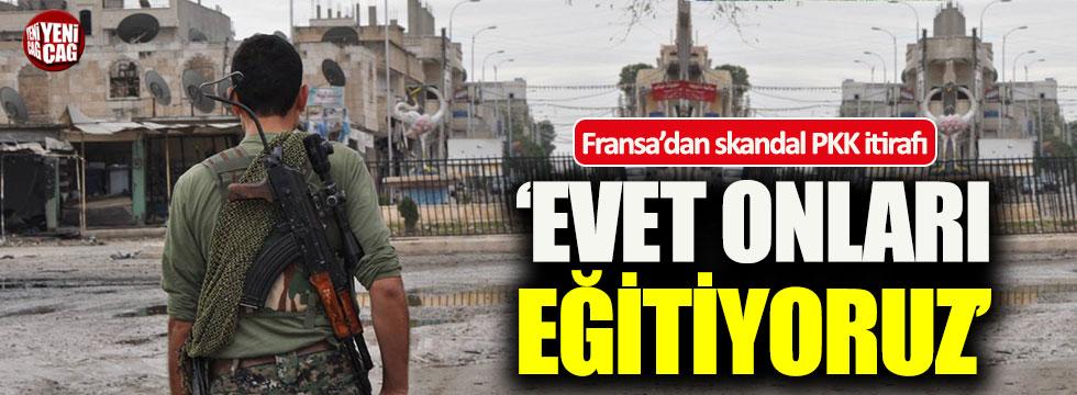 Fransa'dan skandal itiraf: Evet PKK'lıları eğitiyoruz
