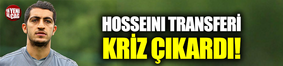 Trabzonspor'da Hosseini krizi