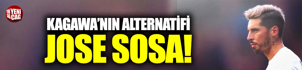 Beşiktaş'ta Kagawa'nın alternatifi Sosa