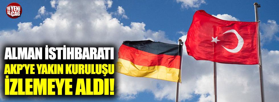 Alman istihbaratı AKP'ye yakın kuruluşu izlemeye aldı