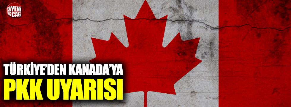 Türkiye'den Kanada'ya PKK uyarısı!