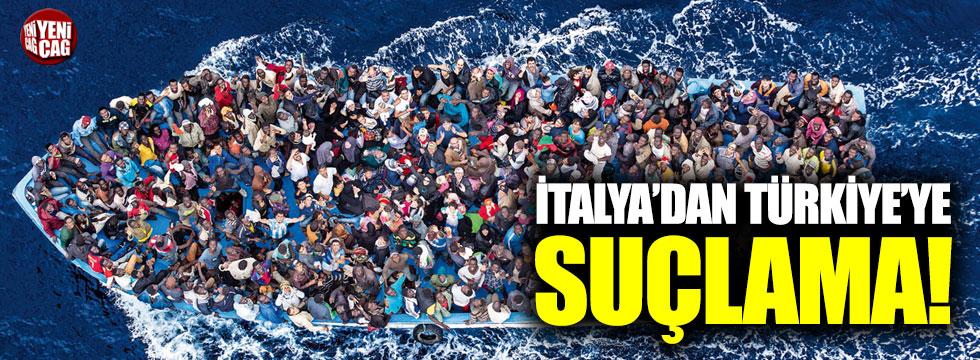 İtalya'dan Türkiye'ye suçlama!