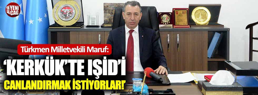 """""""Kerkük'te IŞİD'i canlandırmak istiyorlar"""""""