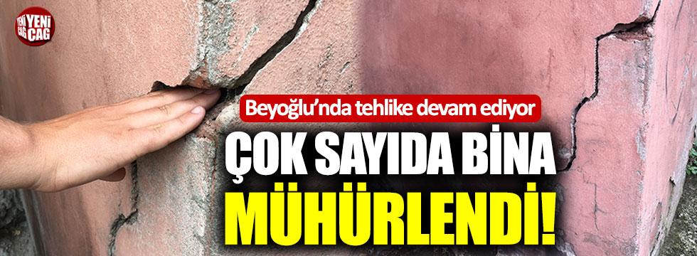Beyoğlu'nda tehlike devam ediyor!