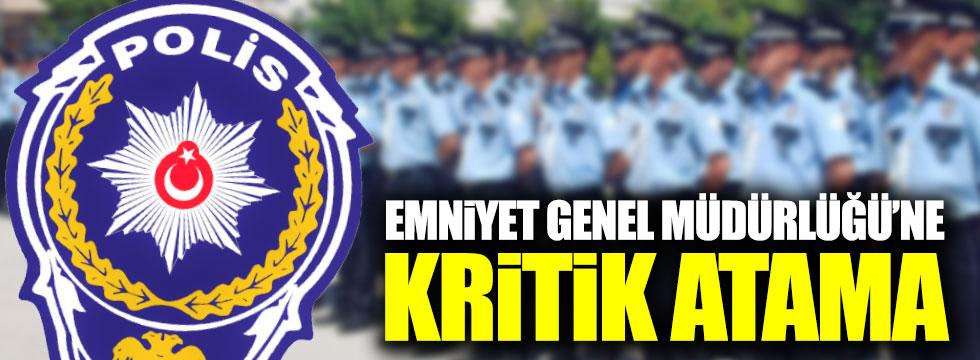 Celal Uzunkaya Emniyet Genel Müdürlüğü'ne atandı