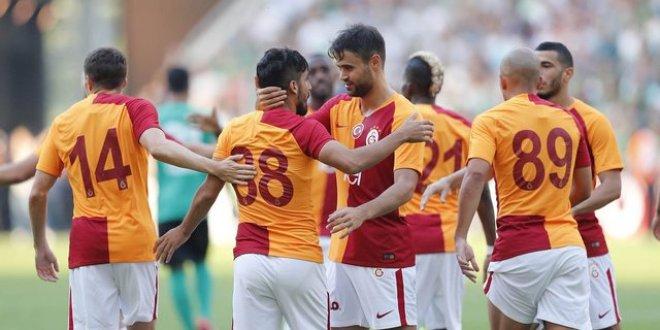 Galatasaray Sakaryaspor'u rahat geçti
