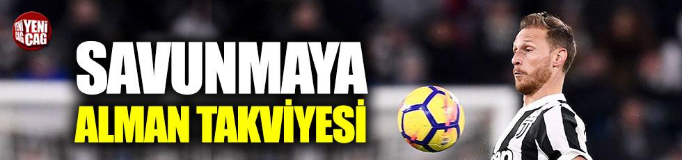 Galatasaray'da savunmaya Alman takviyesi