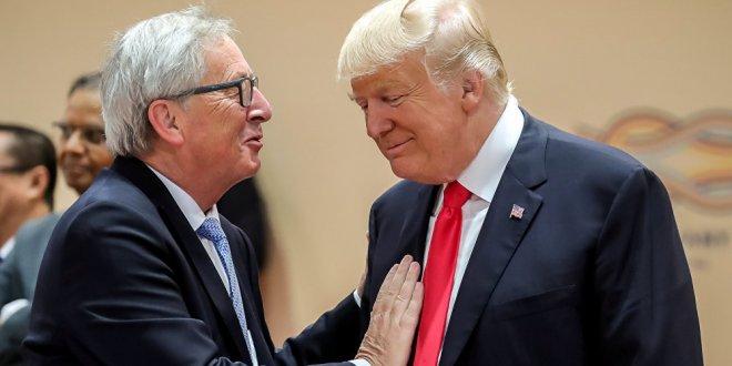Trump: AB ile anlaşma sağladık