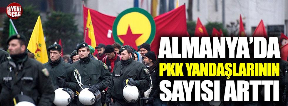 Almanya'da PKK yandaşlarının sayısı arttı