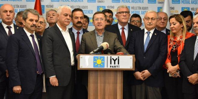 İYİ Parti Başkanlık Divanı'ndan Akşener'e çağrı