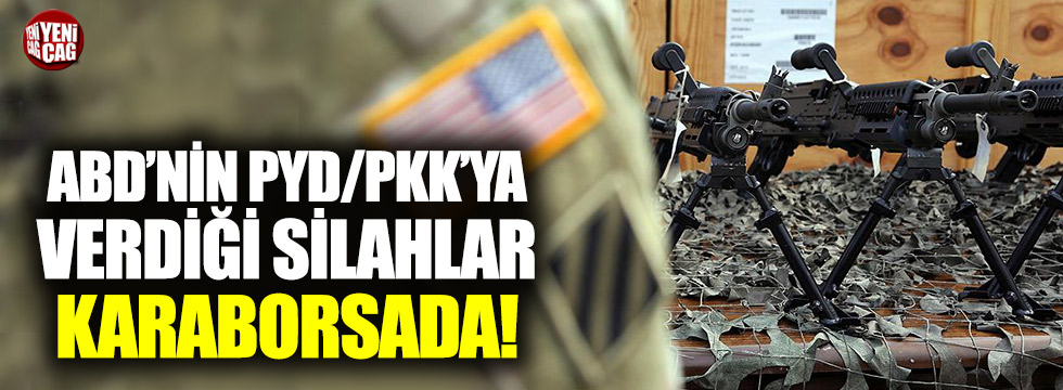 ABD'nin PKK/PYD'ye verdiği silahlar karaborsada