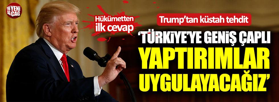 """ABD'den Türkiye'ye tehdit: """"Rahibi bırakmazsanız..."""""""