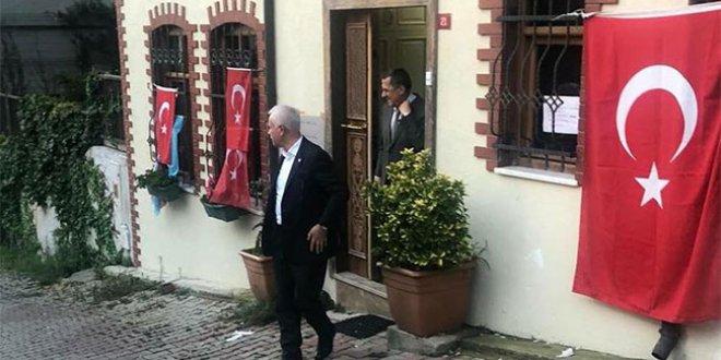 Aydın ve Türkkan Akşener'i ziyaret etti