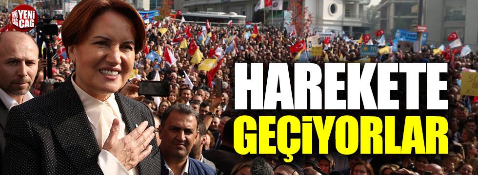 İYİ Partililer Akşener için harekete geçiyor