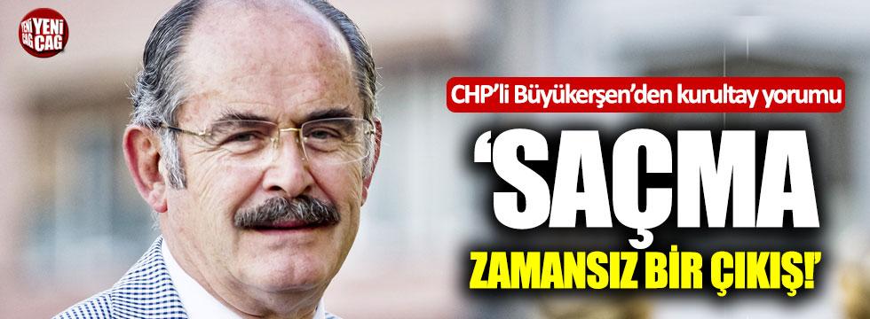 CHP'li Büyükerşen'den kurultay yorumu