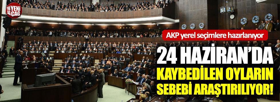 AKP yerel seçimlere hazırlanıyor