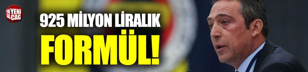 Ali Koç'tan 925.5 milyonluk büyük formül!