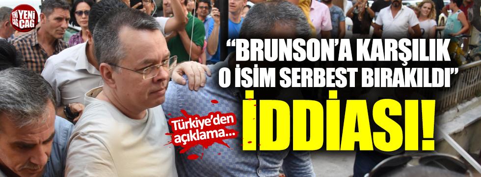 Ebru Özkan, Trump'ın isteğiyle serbest bırakıldı iddiası