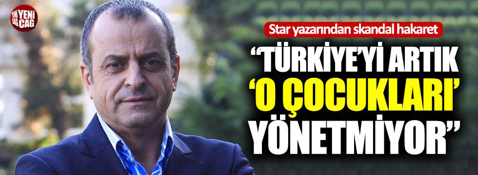 """Albayrak: """"Türkiye'yi artık o çocukları yönetmiyor"""""""