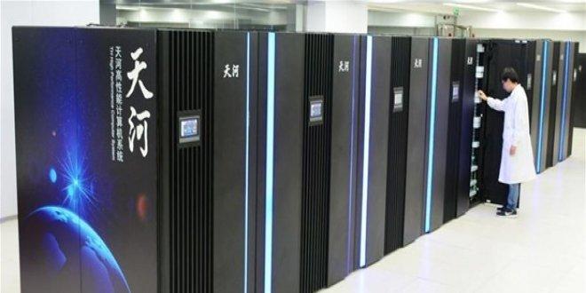 Çin'in yeni süper bilgisayarının prototipi hazır