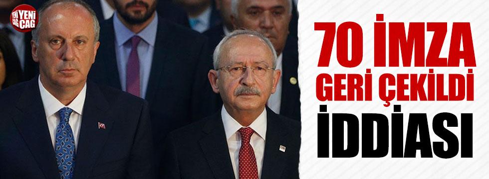 'CHP'de 70 imza geri çekildi' iddiası