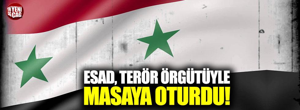 Esad, terör örgütü PKK'yla masaya oturdu
