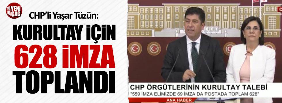 CHP'li Yaşar Tüzün: Yeterli imza sayısına ulaştık