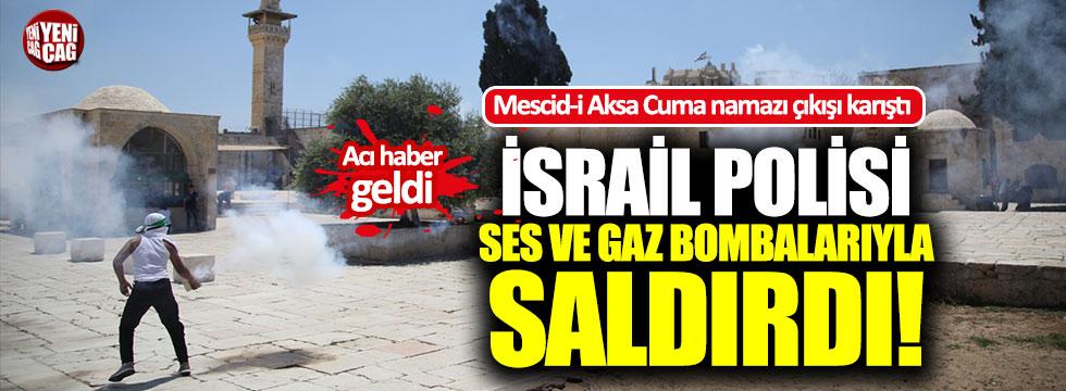 Mescid-i Aksa'da ses bombalı saldırı